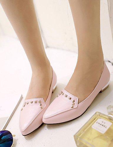 ZQ unter – Gegenständen – semicuero flach – Casual – semicuero – – Damenschuhe – High Heels Schwarz/Blau/Pink/Weiß 2ab1e0