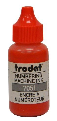 Trodat Numbering Machine Ink (Red)