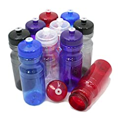 With so much concern over cheap plastic drinking bottles that contain BPA (Bisphenol A), these bottles offer a safe alternative. This 24oz Fitness Drink Bottle is BPA-Free, Lead Free, Recyclable and is Made In The U.S.A.The spill-proof pull t...