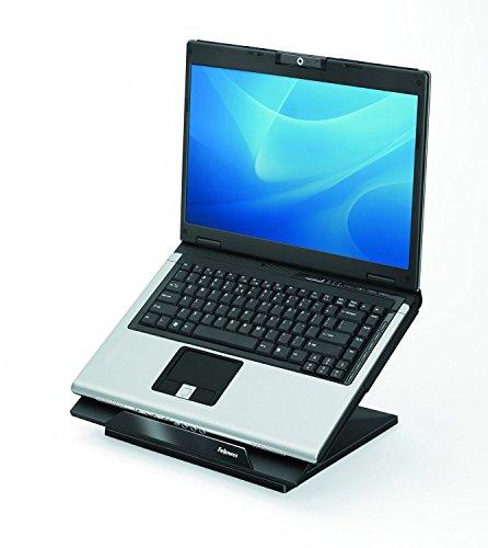 (Fellowes Designer Suites Laptop Riser, Black (8038401))