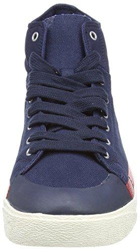 Champion Herren Cut Shoe C29 Mid Hohe Sneaker Blau (New Navy BS501)