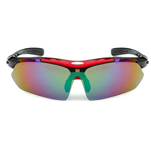 de Sol Polarizer Blue Weichunya Red Masculinas Que los de Frame Gafas Sol Frame de Color Profesionales Gafas black Gafas de Sol conducen Hombres axXqUYFwX