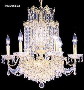 93006S22 - James Moder Lighting - Empress - Thirteen Light Chandelier Silver - Empress