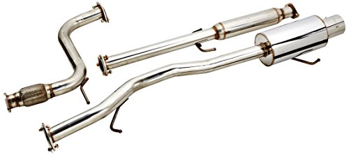 - Spec-D Tuning MFCAT2-ACD94 Honda Accord Ex Dx Lx 2 4 Door Full Cat Back Exhaust System