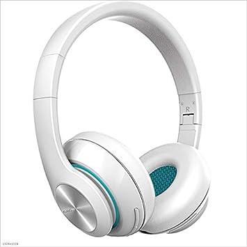 Kaiyu Auriculares Bluetooth Ligero Portable con Cable e inalámbrico de Doble Uso (Color : White): Amazon.es: Electrónica