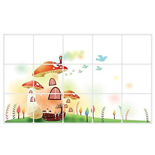 Wall Stickers - Wall Stickers Foil Oil Sticker Waterproof Decal Home Decor Art 75x45 Cm - Love Boys Star Christ Cat Unicorn Room Living Prime Switch