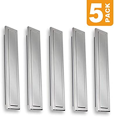 Modern Chrome Bin Cup Drawer Pull Handles SH3949-101-CHR-5 Southern Hills 4-Inch Chrome Cabinet Pull Pack of 5