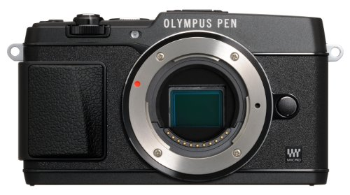 Olympus E-P5 16.1MP Mirrorless Digital Camera with 3-Inch LCD- Body Only (Black) (Best Value Csc Camera)
