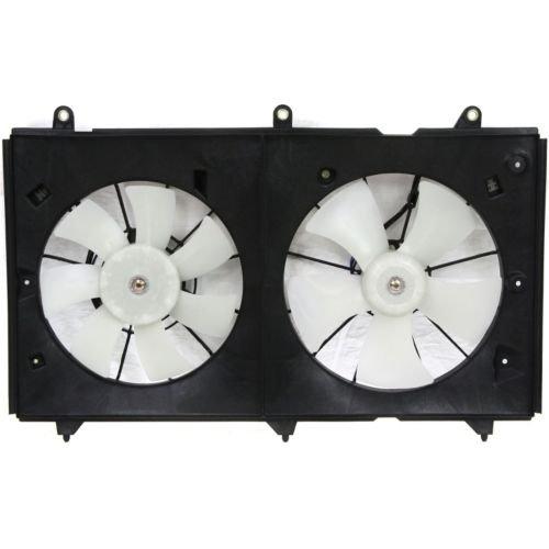 MAPM Premium ACCORD 03-07 RADIATOR FAN SHROUD ASSEMBLY, Dual Fan, 4Cyl, Denso Type, M.T./A.T.
