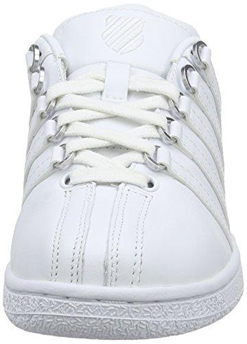 Mujer clásicas Blanco Zapatillas Swiss para Blanco Blanco Blanco VN K wa4tXqWPq 0abfee
