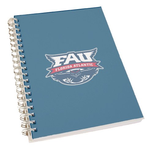 CFG Clear 7 x 10 Spiral Journal Notebook 'Official Logo' by CollegeFanGear