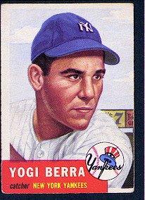 1953 Topps #104 Yogi Berra - FAIR