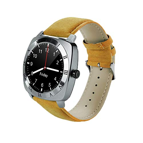 (#117) 1.33 inch Full IPS Round Touch Screen Bluetooth Smart Watch Phone With SIM Card Slot for Android - Phone Inch 1.33 Watch