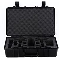 Rantow Plastic Safe Carrying Suitcase Case for Parrot Bebop 2 Drone, Protective Travelling Transport Carry Box Storage Case