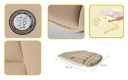 Sandy SmartDirect Coccyx Care Memory Foam Seat Cushion for Car Office Home Use