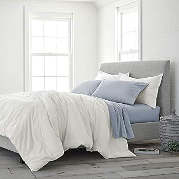 Amazon Com Under The Canopy Eco Pure Twin White Comforter