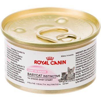 Royal Canin Feline Health Nutrition Baby Cat Instinctive Kitten Canned Cat Food, My Pet Supplies