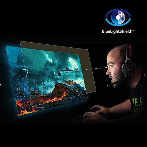 Acer Nitro XV340CK Pbmiipphzx 34″ QHD (3440 x 1440) IPS Gaming Monitor with AMD Radeon FREESYNC, 144Hz, 1ms VRB, HDR10 Technology, (2 x Display Ports, 2 x HDMI 2.0 & 2 x USB 3.0 Ports), Black 41Tpfxi JSL