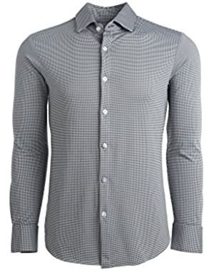 Spinnaker Trim Fit Mens Button Down Shirt | Non-Iron, Machine Washable, Sweat Wicking
