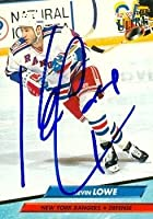 Autograph Warehouse 68568 Kevin Lowe Autographed Hockey Card New York Rangers 1993 Fleer Ultra No. 356