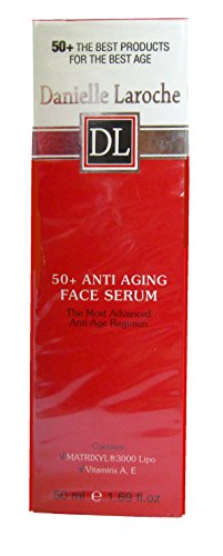 Danielle Laroche 50+ Anti Aging Face Serum With Matrixyl 3000 Lipo And Vitamin A & E1.69 fl oz.