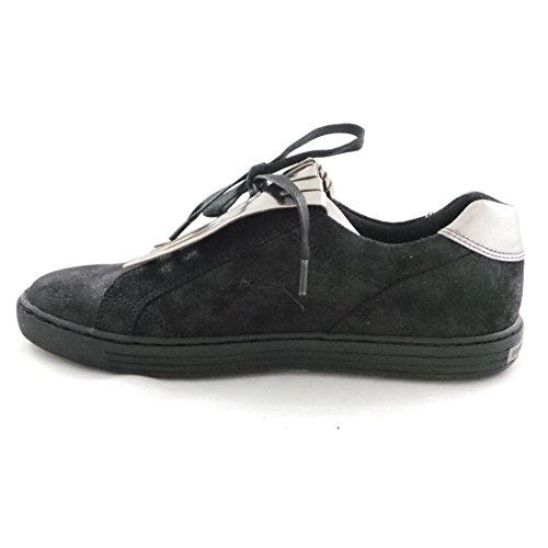 Marco Tozzi 2/24600/29 Lovati Black and Silver Casual Slip-On Shoe 8sIl6t6JXz