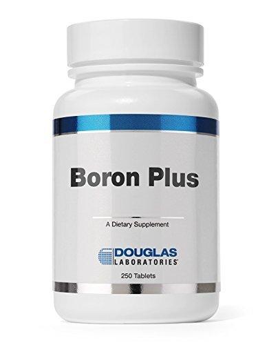 Douglas LaboratoriesÃÂ'Ã'® - Boron Plus - Supports Bone Structure, Cell Membranes, and Calcium and Magnesium Absorption* - 250 Tablets by Douglas Labs