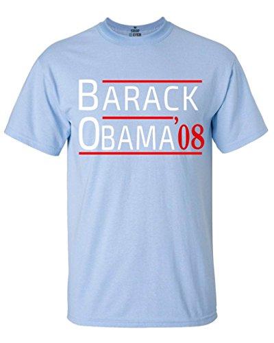 Shop4Ever Barack Obama '08 T-Shirt President Shirts Large Light (Barack Obama Light)