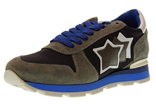 Atlantic Stars Scarpe Uomo Sneakers Basse Sirius mm 83B Beige-marrone
