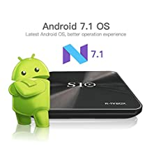 Hindotech R-TV BOX S10 S912 Octa Core DDR4 3GB eMMC 32GB Android 7.1 4K Smart TV Box AC WIFI Gigabit LAN Bluetooth 4.1 3D