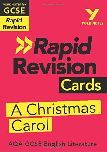 York Notes for AQA GCSE (9-1) Rapid Revision Cards: A Christmas Carol (A Revision Carol Christmas)
