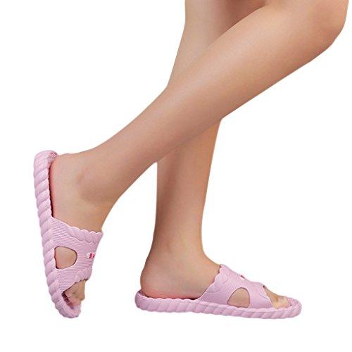 40 Outdoor Pantoufles Rose Chaussons Douche Home Rose Beach Summer Femme Spa d'intérieur JAGENIE Sandales H0qwv0