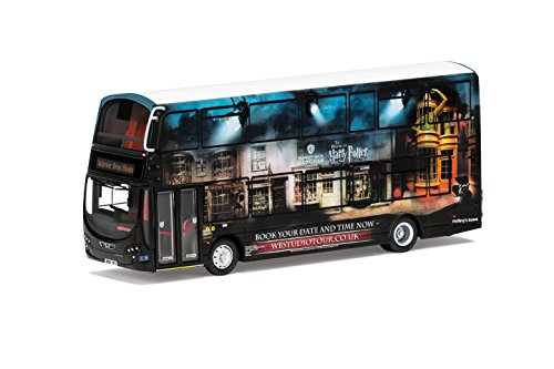 Corgi OM46513 Wrightbus/Mullanys Wright Eclipse Gemini 2 Harry Potter Warner Bros. Studio Shuttle Bus Model