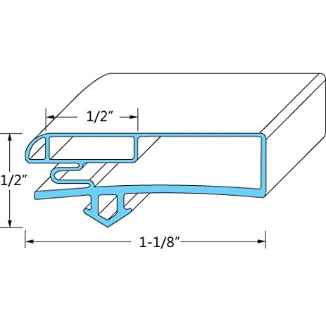 Anthony 02-14160-2018 Magnetic Door Gaskets for Freezers/Coolers/Refrigerators 28  sc 1 st  Amazon.com & Amazon.com: Anthony 02-14160-2018 Magnetic Door Gaskets for Freezers ...
