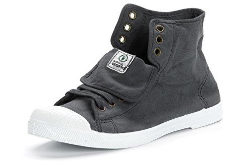 Natural Tendance Chaussures en Toile Femmes Baskets World Eco Tennis Tissu pour Vegan BYBxr6
