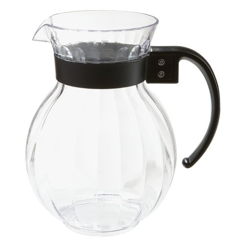 Tahiti Pitcher - G.E.T. P-4072-PC-CL Tahiti Clear 72 Oz Polycarbonate Pitcher - Dozen