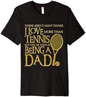 ⭐️⭐️⭐️ Mens I Love Tennis Tshirt Funny Paternity Gift for Tennis Players Need Funny Short/Long Sleeve Shirt/Hoodie
