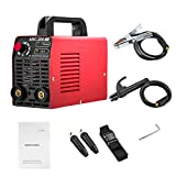 Arc Welder 110V 200Amp Arc Welding Machine IGBT Inverter AC-DC Mini Electric Welders Free Accessories Tools High Frequency Household Smart Welder for Novice Welders fits 3.2mm weling rods