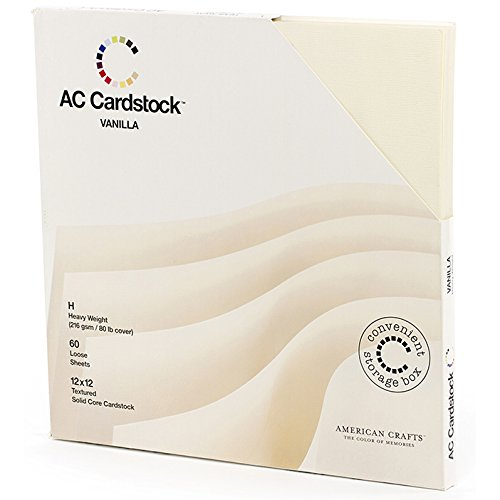 American Crafts Cardstock Pack - 8