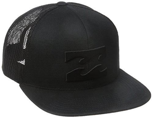 Billabong Men's All Day Adjustable Snapback Trucker Hat, Stealth, One Size
