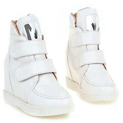 Taoffen Women's Velcro White Taoffen Boots Velcro Boots White White Velcro Taoffen Women's Taoffen Boots Women's AwBxxq5d