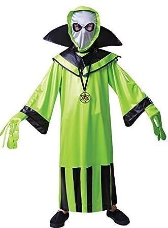 Disfraz infantil de alienígena (talla S, para niños de entre 3 y 5 ...