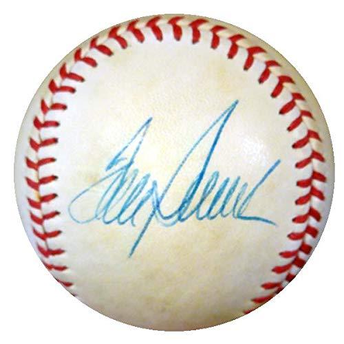 Signed Tom Seaver Baseball - NL Painted Vintage Playing Days #Y88210 - PSA/DNA Certified - Autographed Baseballs