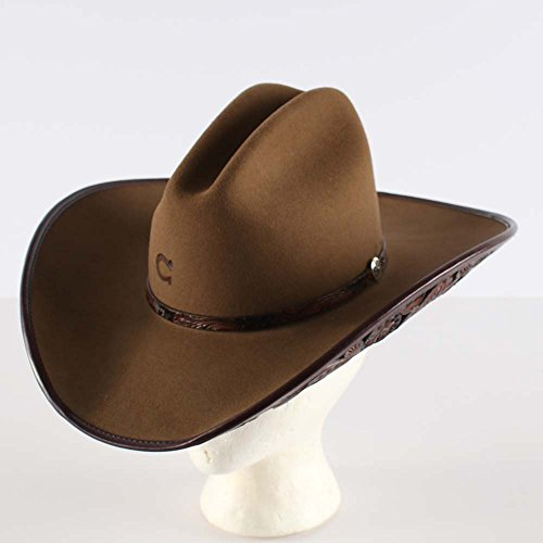 Charlie 1 Horse Ladies' Cut Above 4X Felt Cowboy Hat (6 3/4) by Charlie 1 Horse