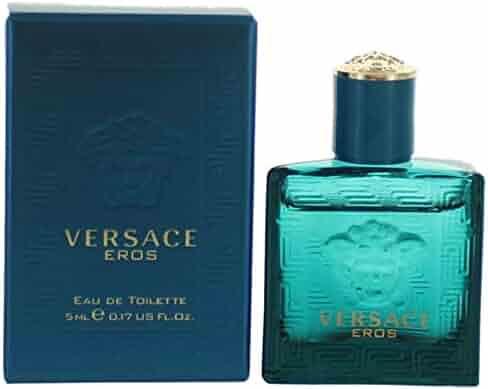 huge selection of 0aaf0 7d14f Versace Eros by versace 0.17 oz (5 ml) EDT Splash Men Mini NEW IN