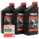 Amazon com: Yamalube Oil Change Kit 10W-50 for Yamaha YZ250F 2014