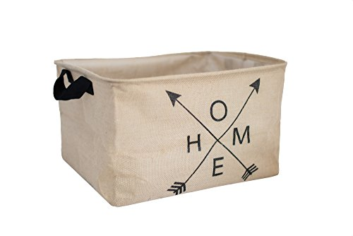 Rustic Style Farmhouse Large Home Storage Basket