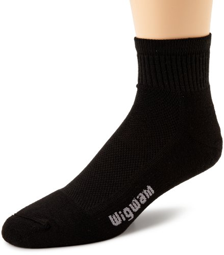 wigwam-unisex-cool-lite-pro-quarter-length-sock-black-medium