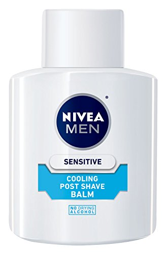 NIVEA FOR MEN sensible enfriamiento Post Shave bálsamo, 3.3 oz botella (paquete de 3)