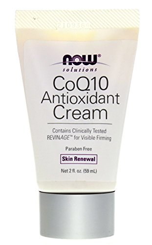 Now Foods, Solutions, CoQ10 Antioxidant Cream, 2 fl oz (59 ml)